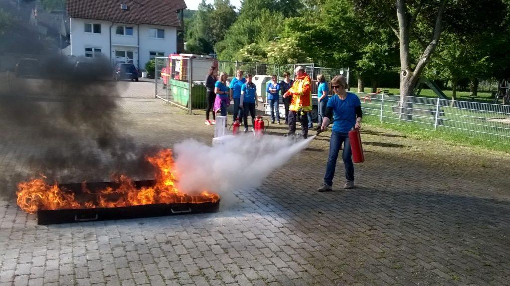 Feuerlöscher-Ausbildung 2016
