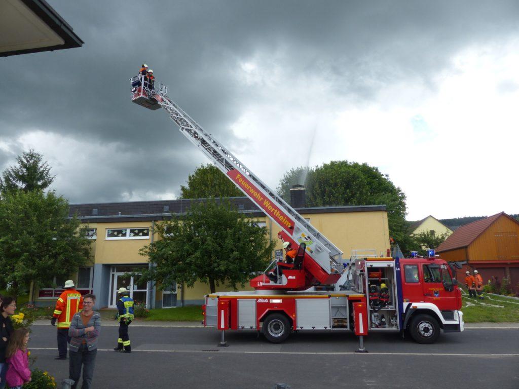 Feuerwehrübung 2016