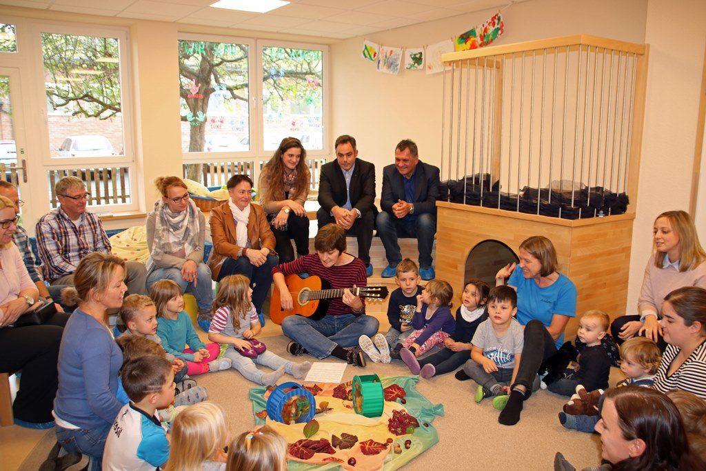 Der Kindergarten Dertingen hat sein Betreuungsangebot um eine Krippengruppe erweitert. Foto: Stadt Wertheim